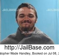 CHRISTOPHER WADE HANDLEY mugshot picture