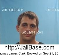 THOMAS JAMES CLARK mugshot picture