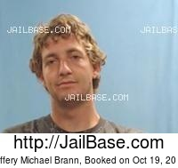 JEFFERY MICHAEL BRANN mugshot picture