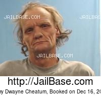 JERRY DWAYNE CHEATUM mugshot picture