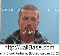 JEREMY BROOK REDWINE mugshot picture