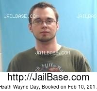 HEATH WAYNE DAY mugshot picture