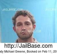 CODY MICHAEL GREENE mugshot picture