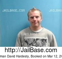 NORMAN DAVID HARDESTY mugshot picture