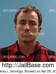 JEREMY L JENNINGS mugshot picture
