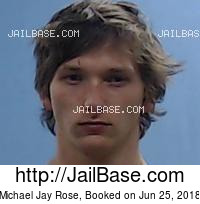 MICHAEL JAY ROSE mugshot picture