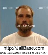 RANDY DALE MASSEY mugshot picture