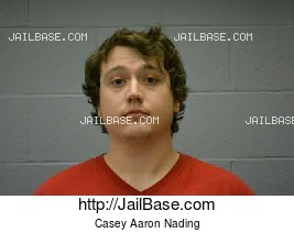 Casey Aaron Nading mugshot picture