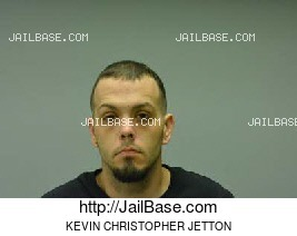 KEVIN CHRISTOPHER JETTON mugshot picture