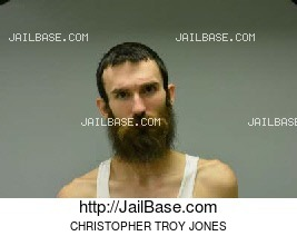 CHRISTOPHER TROY JONES mugshot picture