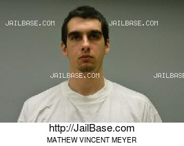 MATHEW VINCENT MEYER mugshot picture