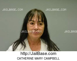CATHERINE MARY CAMPBELL mugshot picture