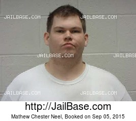 MATHEW CHESTER NEEL mugshot picture