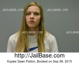 KAYLEE DAWN PATTON mugshot picture