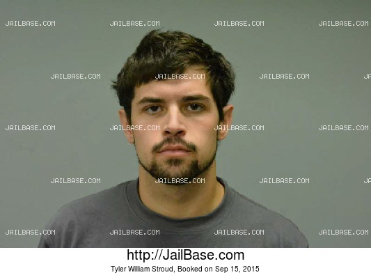 TYLER WILLIAM STROUD mugshot picture