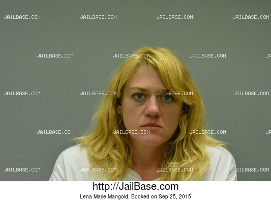 LENA MARIE MANGOLD mugshot picture