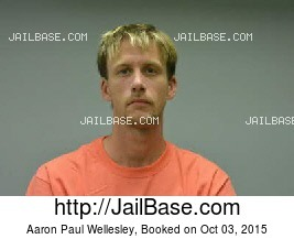 AARON PAUL WELLESLEY mugshot picture