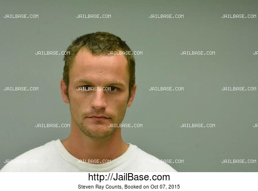 STEVEN RAY COUNTS mugshot picture