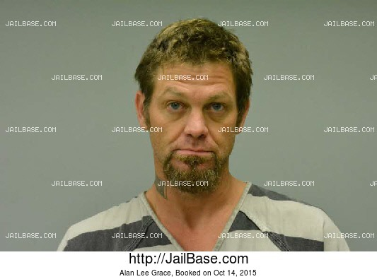 ALAN LEE GRACE mugshot picture