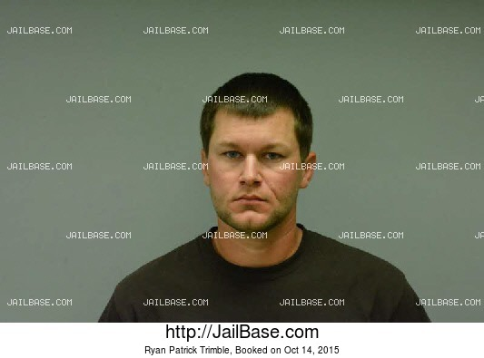 RYAN PATRICK TRIMBLE mugshot picture
