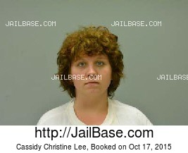 CASSIDY CHRISTINE LEE mugshot picture