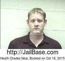HEATH CHARLES NEAL mugshot picture