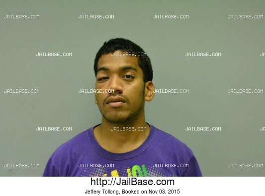 JEFFERY TOLLONG mugshot picture