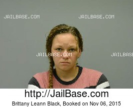 BRITTANY LEANN BLACK mugshot picture