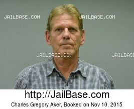 CHARLES GREGORY AKER mugshot picture