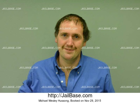 MICHAEL WESLEY HUSSONG mugshot picture