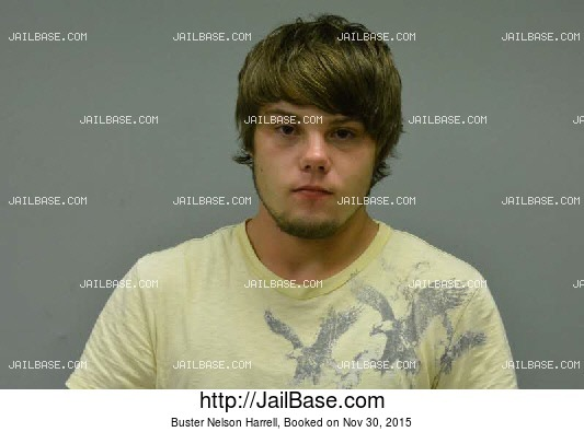 BUSTER NELSON HARRELL mugshot picture