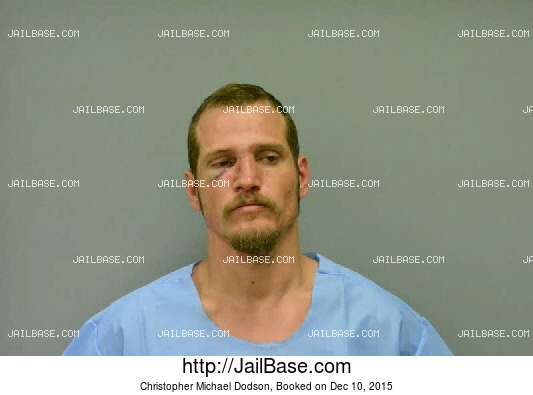 CHRISTOPHER MICHAEL DODSON mugshot picture