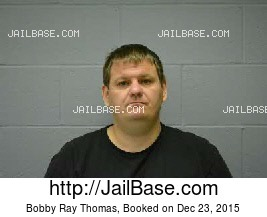 BOBBY RAY THOMAS mugshot picture