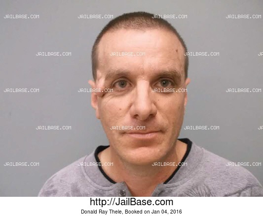 DONALD RAY THELE mugshot picture