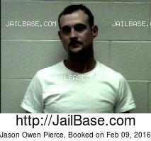 JASON OWEN PIERCE mugshot picture