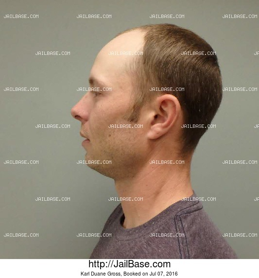 karl duane gross mug shot image