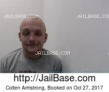 Colten Armstrong mugshot picture