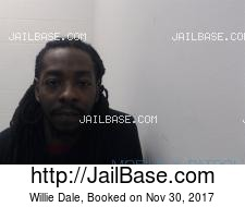 Willie Dale mugshot picture