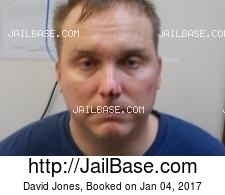 David Jones mugshot picture