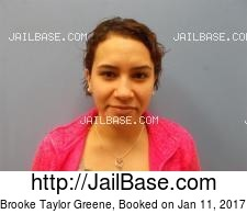 Brooke Taylor Greene mugshot picture