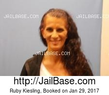 Ruby Kiesling mugshot picture
