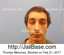 Thomas Mahoney mugshot picture