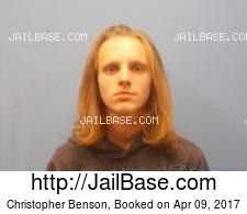 Christopher Benson mugshot picture