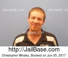 Christopher Whaley mugshot picture