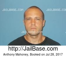 Anthony Mahoney mugshot picture