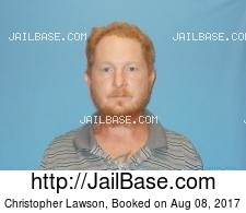 Christopher Lawson mugshot picture