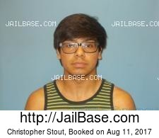 Christopher Stout mugshot picture