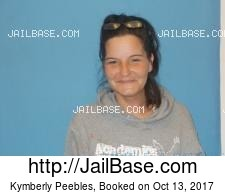 Kymberly Peebles mugshot picture