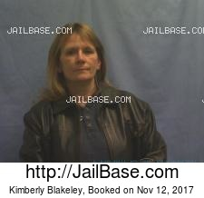 Kimberly Blakeley mugshot picture