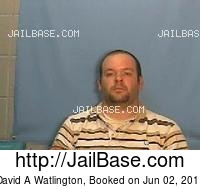 DAVID A WATLINGTON mugshot picture